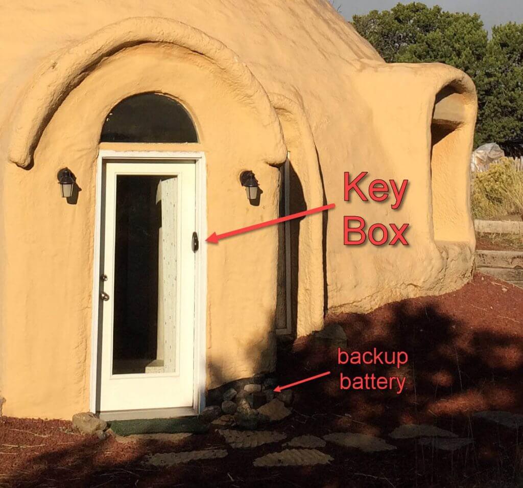 Front Door Lock Location