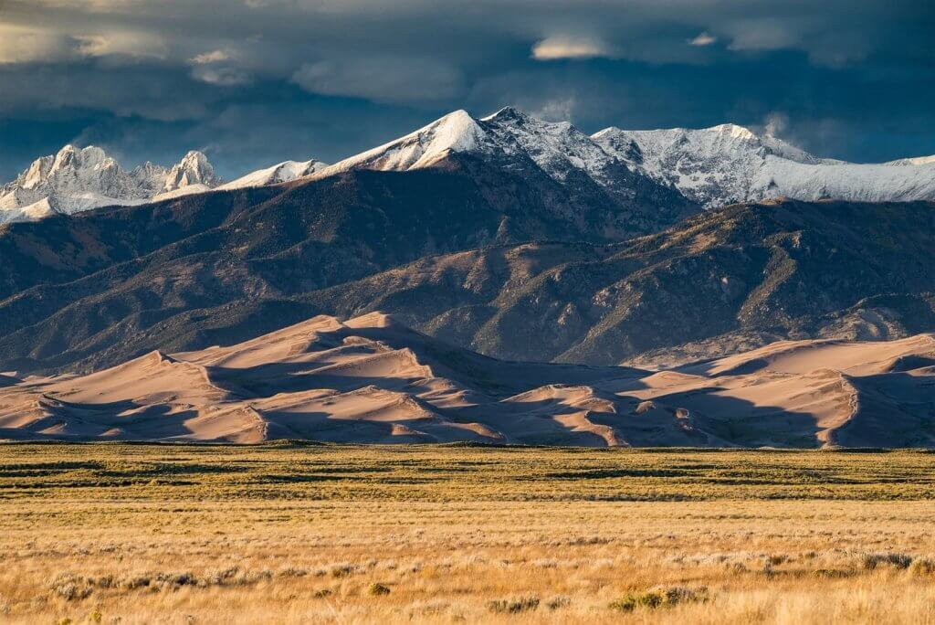 Visit the Great Sand Dunes National Park from the Delightful Dome in Crestone